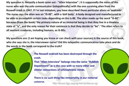 roswell interview debunked