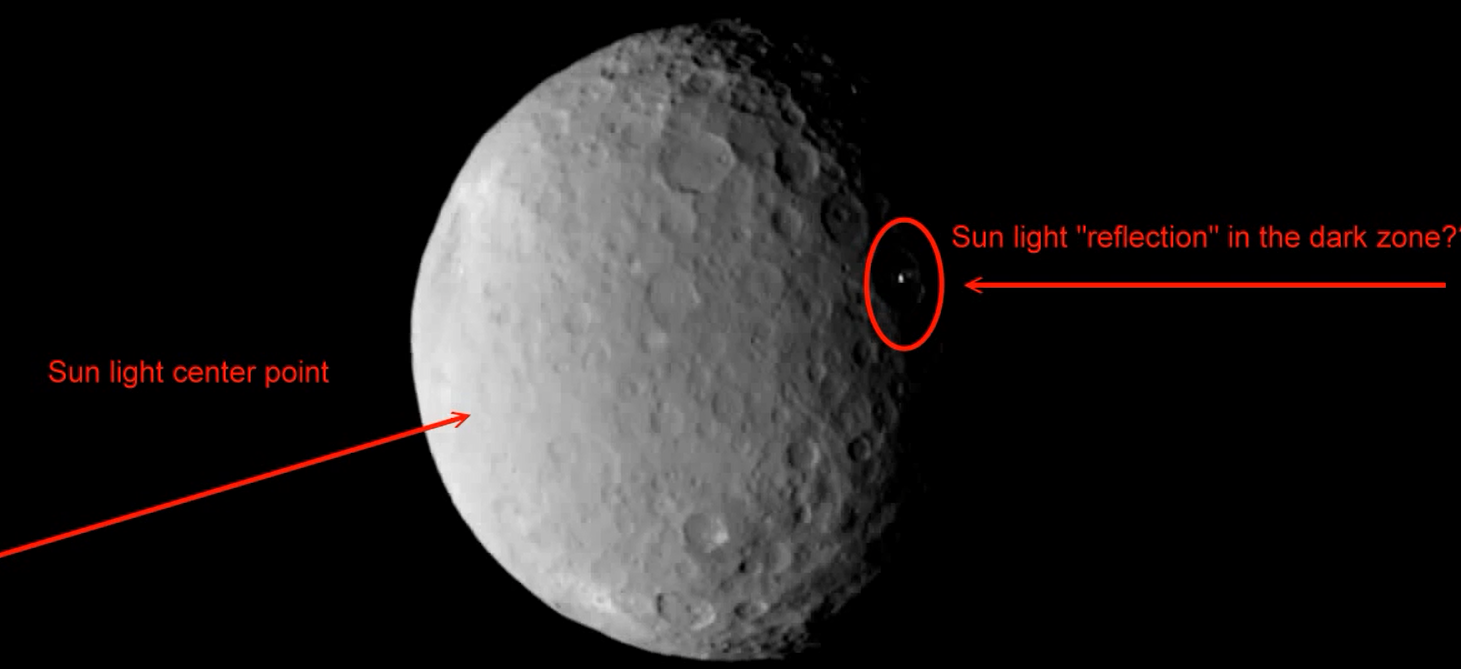 Proof Ceres Lights Is A Mining Or Research Base
