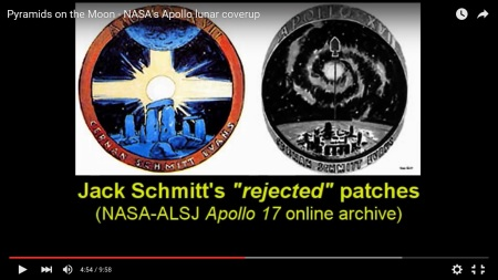 nasa apollo lies rejected mission patches