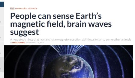 magnetic sense